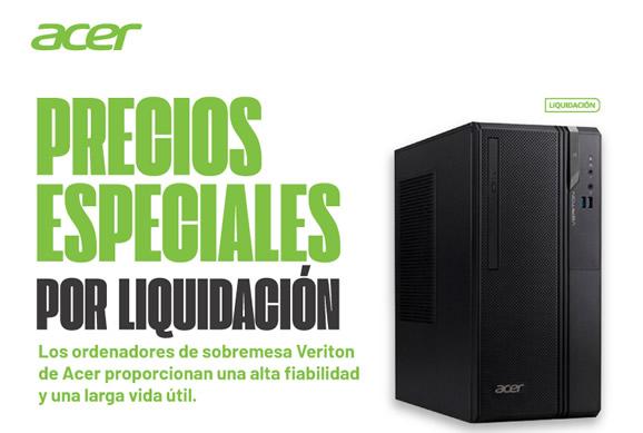 Pcs Acer Veriton en liquidcaión